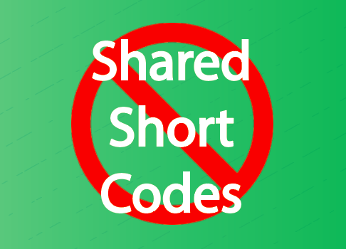 shared short codes